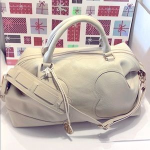 GentlyUsed Tory Burch Large Satchel/ Crossbody Bag